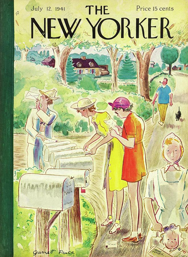 New Yorker July 12 1941 Painting by Garrett Price