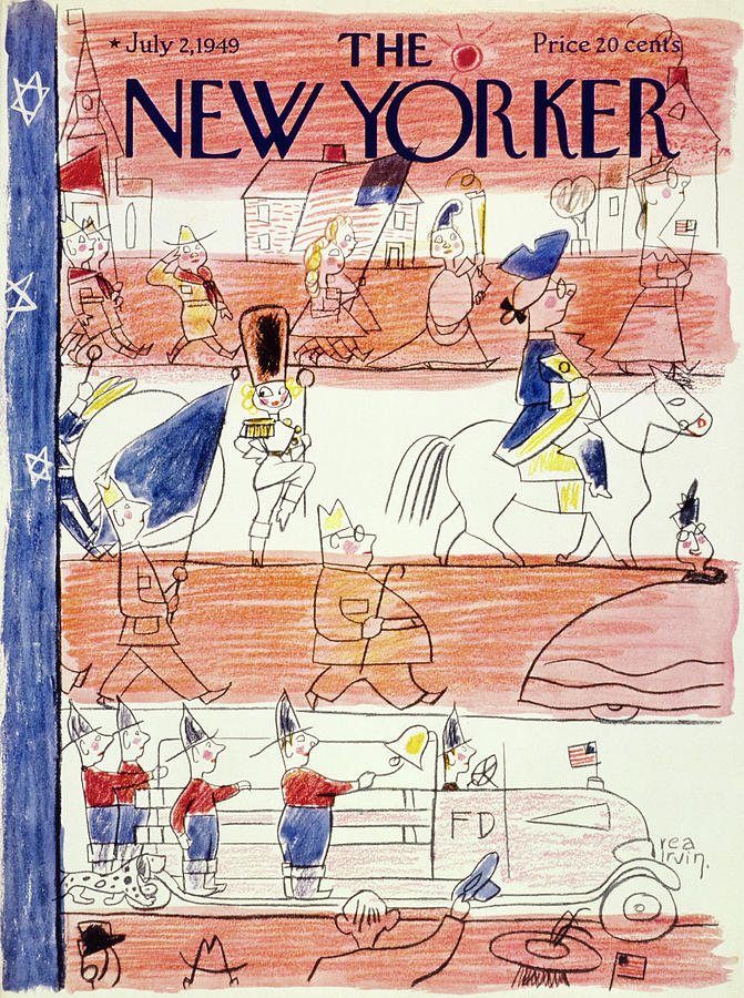 New Yorker July 2 1949 Painting by Rea Irvin