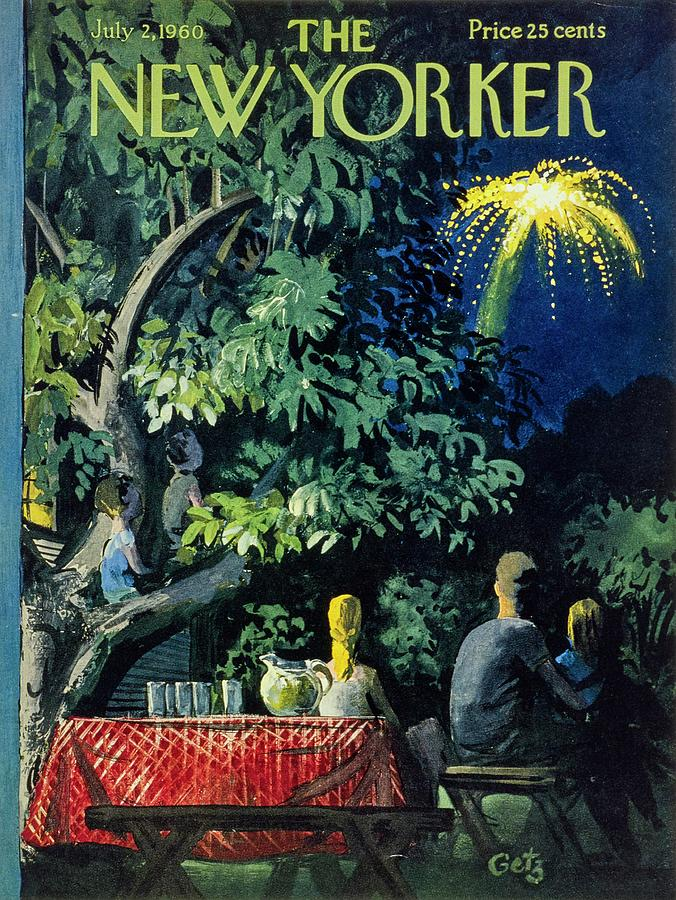 New Yorker July 2 1960 Painting by Arthur Getz