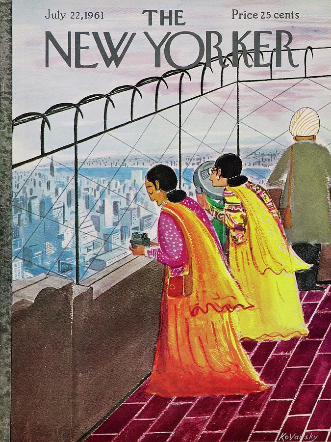 New Yorker July 22 1961 Drawing by Anatole Kovarsky