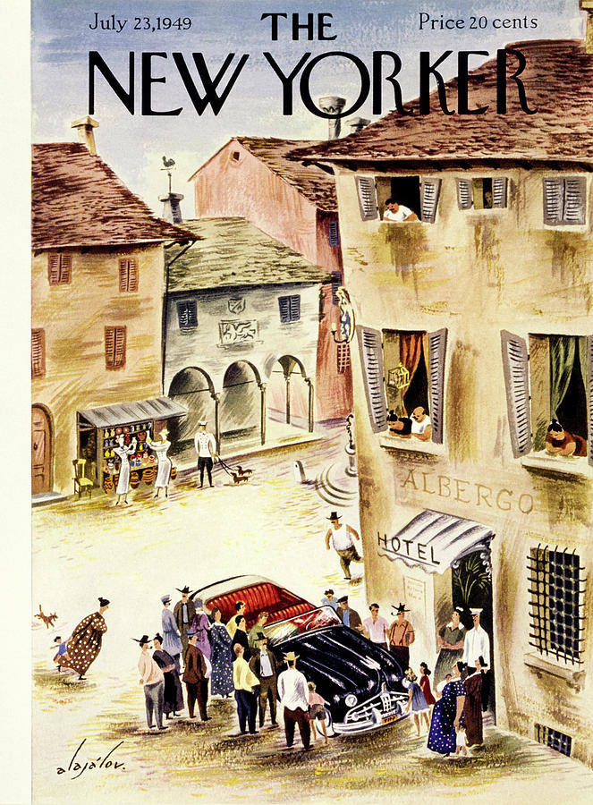 New Yorker July 23 1949 Painting by Constantin Alajalov