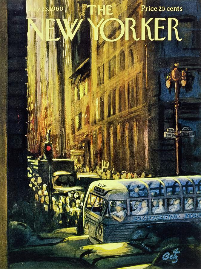New Yorker July 23 1960 Painting by Arthur Getz