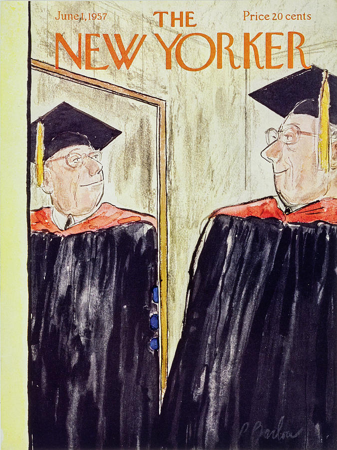 New Yorker June 1 1957 Painting by Perry Barlow