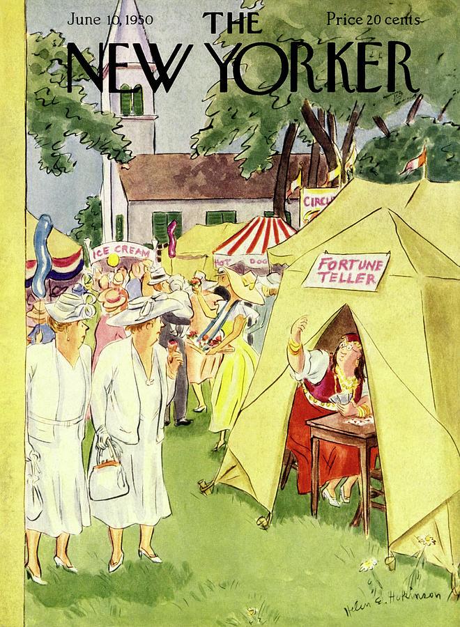 New Yorker June 10 1950 Painting by Helene E Hokinson