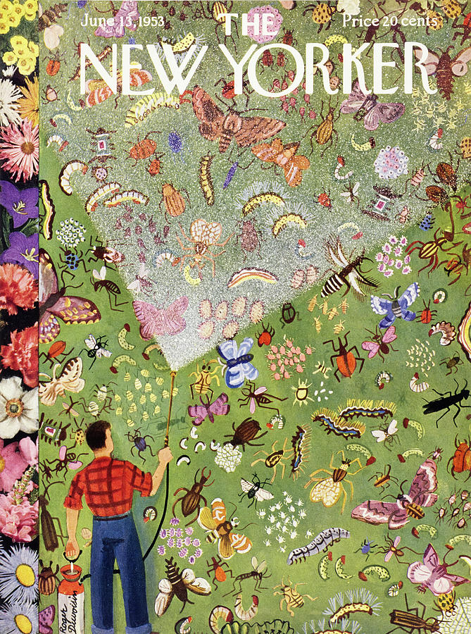 New Yorker June 13 1953 Painting by Roger Duvoisin