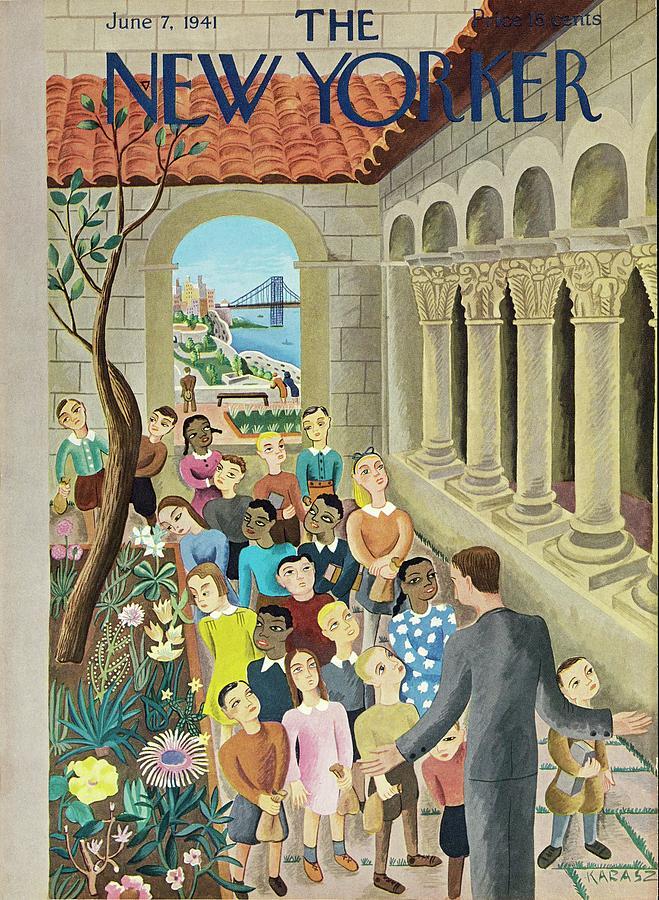 New Yorker June 7 1941 Painting by Ilonka Karasz