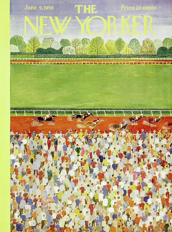 New Yorker June 9 1956 Painting by Ilonka Karasz