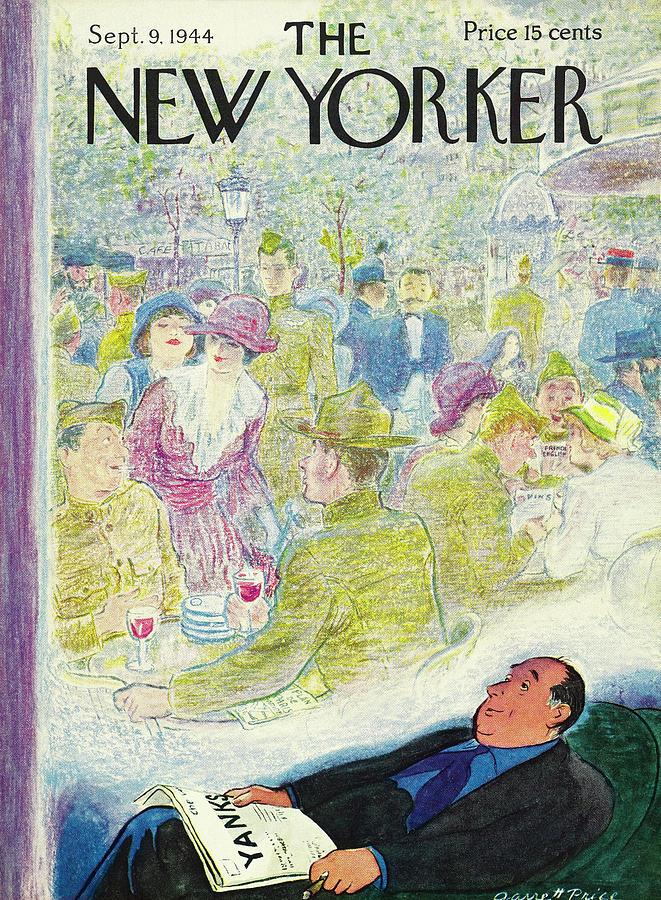 New Yorker September 9, 1944 Painting by Garrett Price