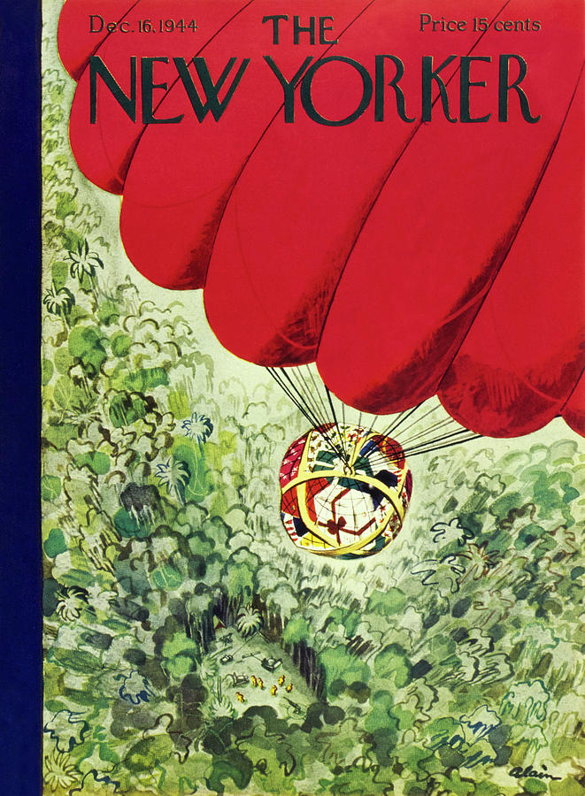 New Yorker December 16, 1944 Painting by Daniel Brustlein