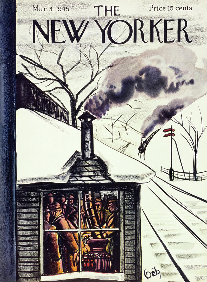New Yorker March 3 1945 Painting by Arthur Getz