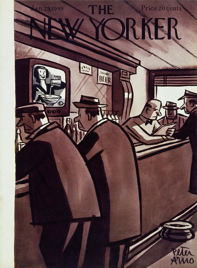New Yorker January 29, 1949 Painting by Peter Arno