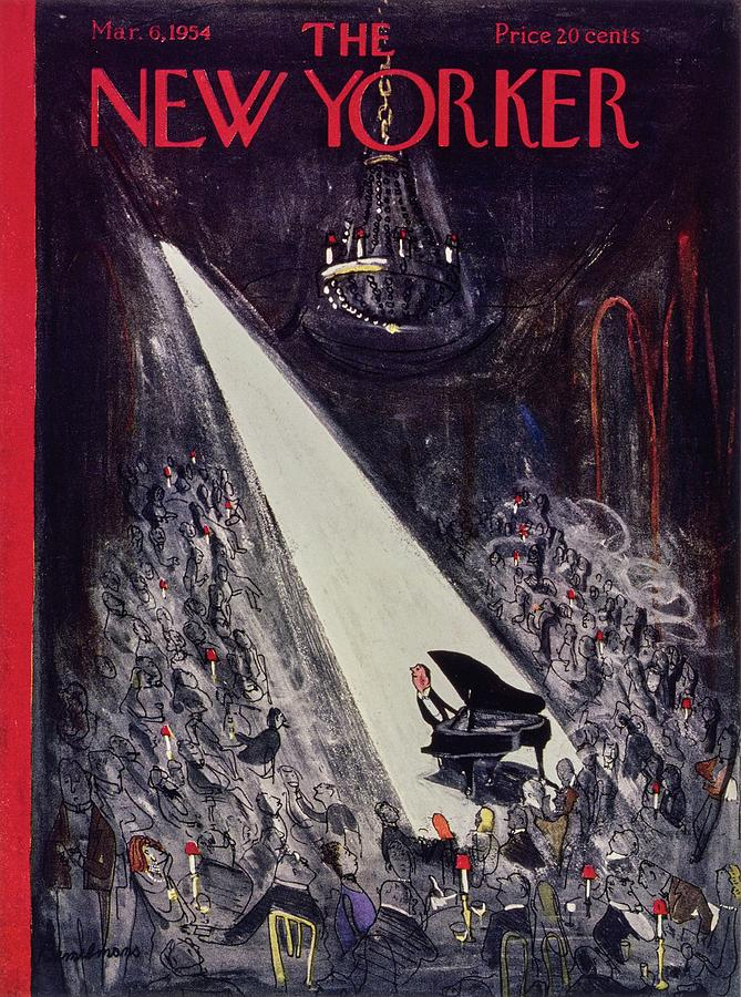 New Yorker March 06 1954 Drawing by Ludwig Bemelmans