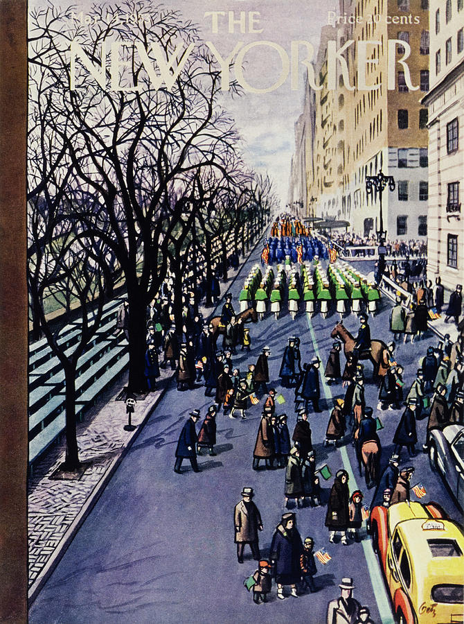 New Yorker March 14 1953 Drawing by Arthur Getz