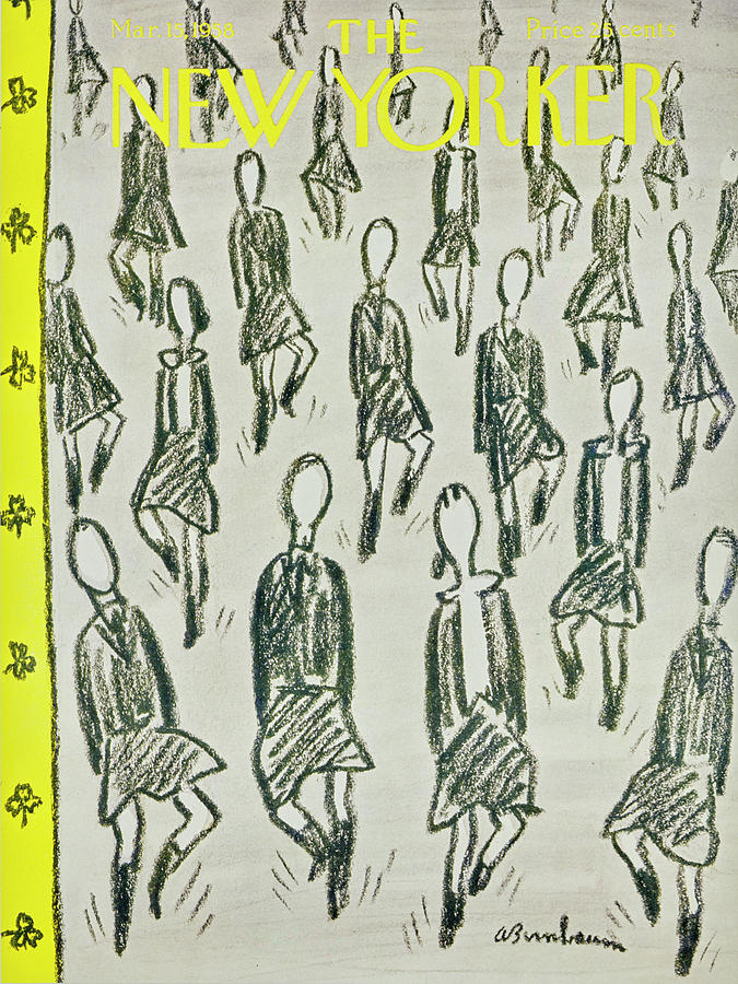 New Yorker March 15 1958 Drawing by Abe Birnbaum
