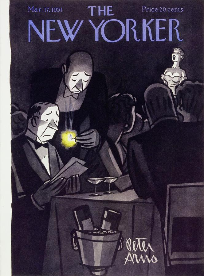 New Yorker March 17 1951 Painting by Peter Arno