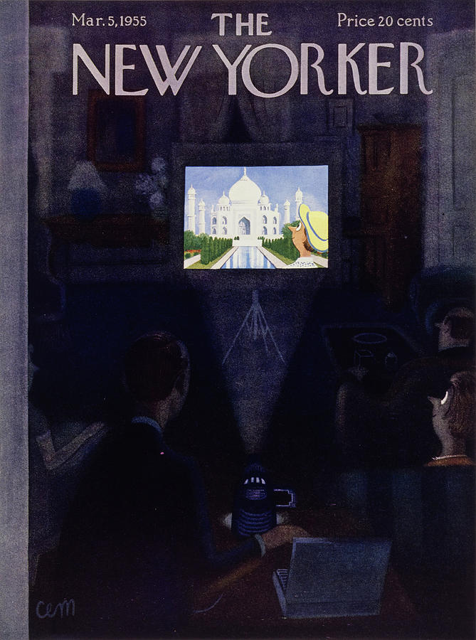 New Yorker March 5, 1955 Painting by Charles E Martin