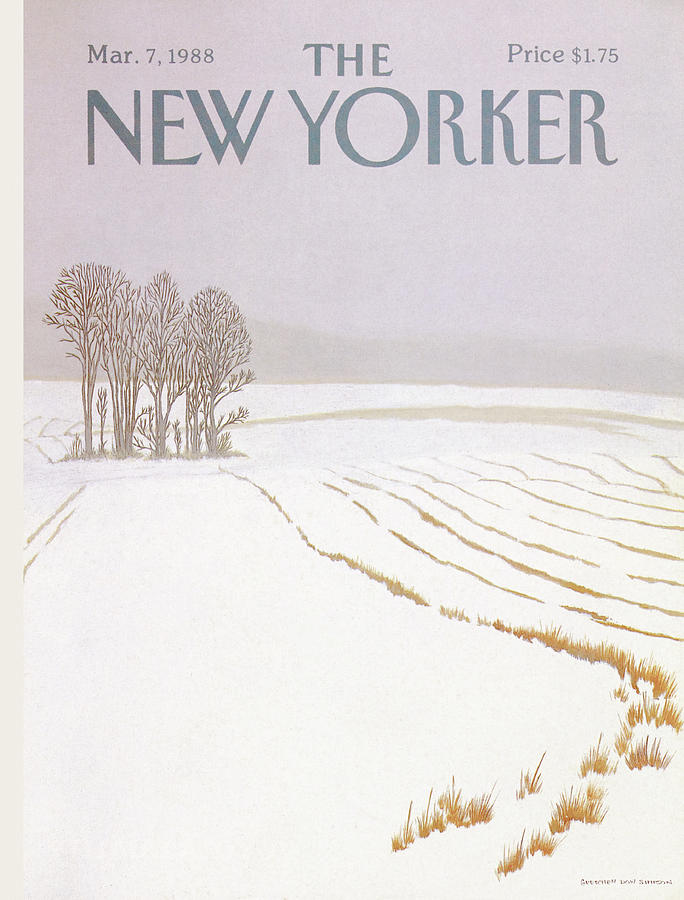 New Yorker March 7 1988 Painting by Gretchen Dow Simpson