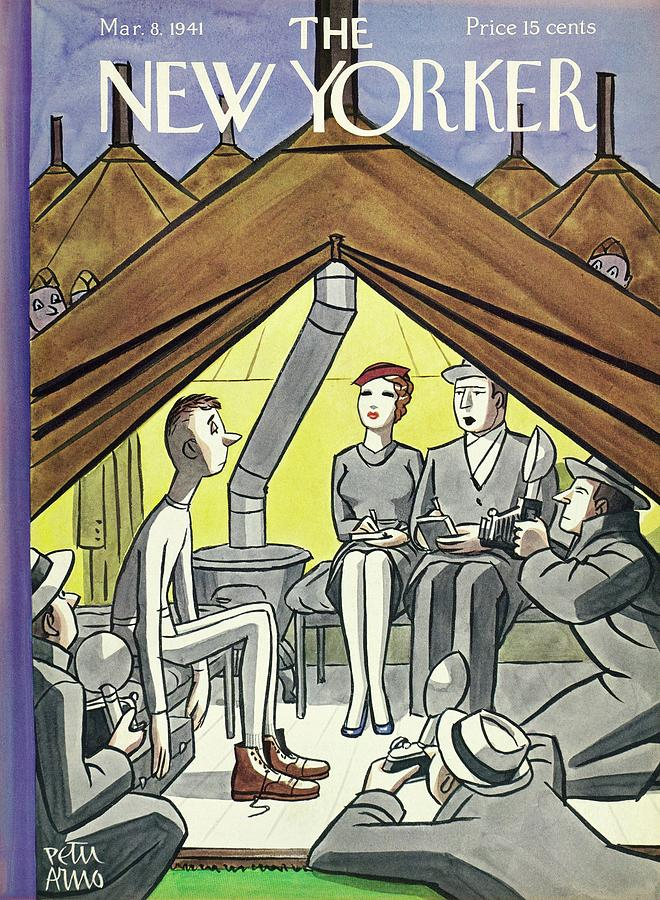 New Yorker March 8 1941 Painting by Peter Arno