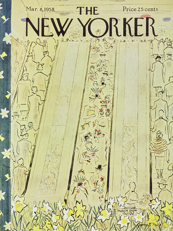 New Yorker March 8 1958 Painting by Garrett Price