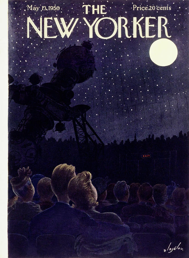 New Yorker May 13 1950 Painting by Constantin Alajalov