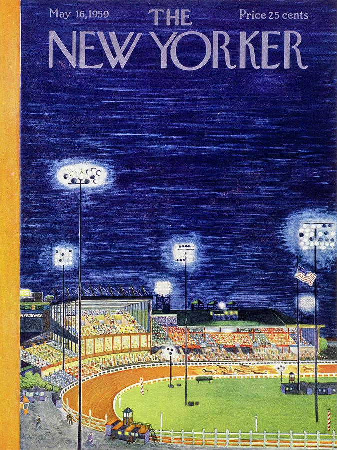New Yorker May 16 1959  Painting by Ilonka Karasz