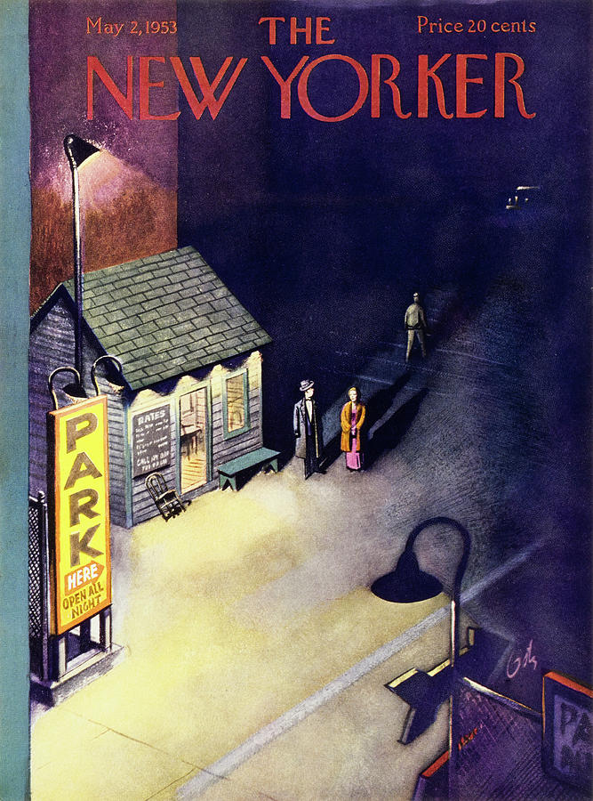 New Yorker May 2 1953 Painting by Arthur Getz
