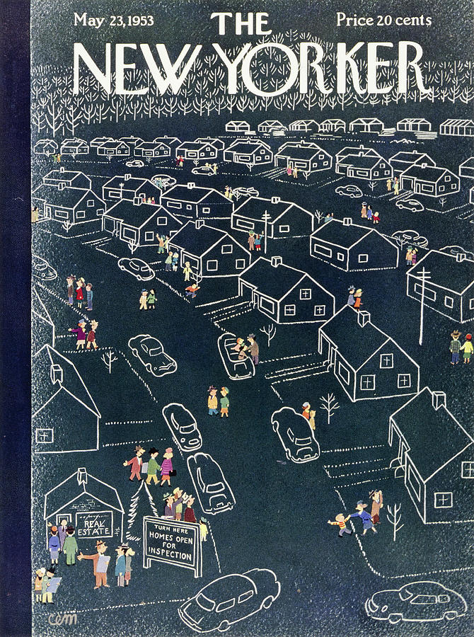 New Yorker May 23 1953 Painting by Charles Martin