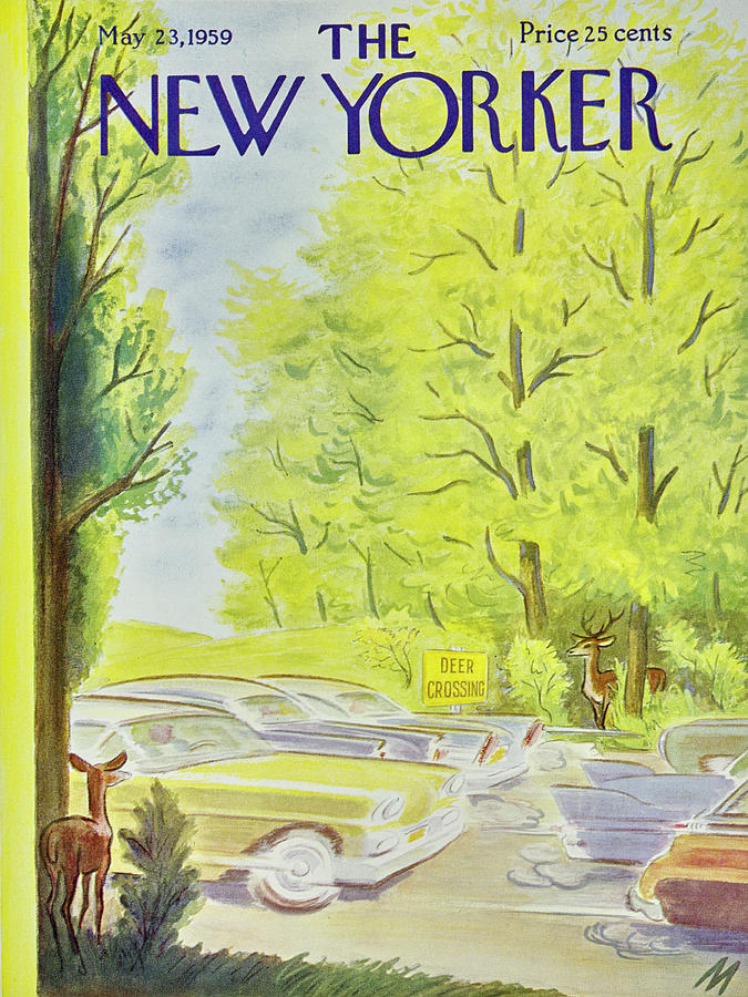 New Yorker May 23 1959 Painting by Julian De Miskey