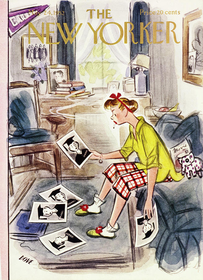New Yorker May 24 1952 Painting by Leonard Dove