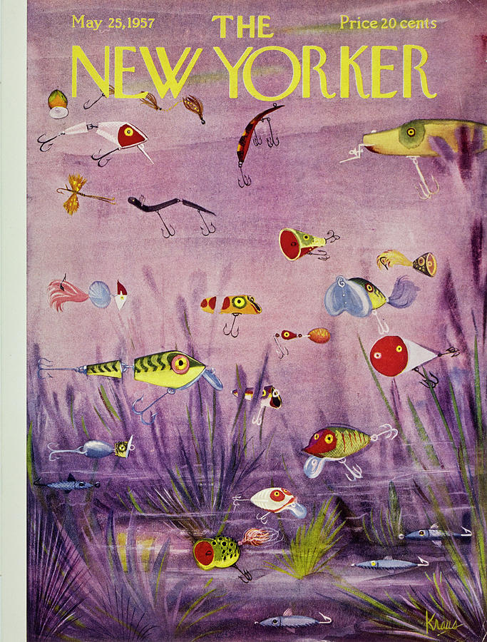 New Yorker May 25 1957 Painting by Robert Kraus