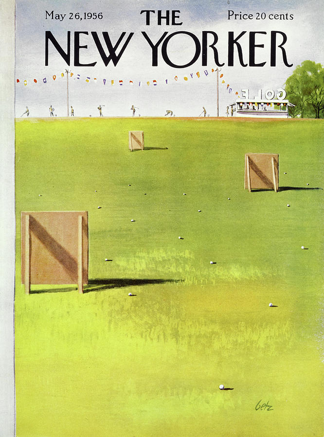 New Yorker May 26 1956 Painting by Arthur Getz