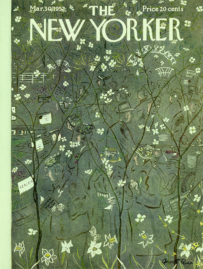 New Yorker March 30 1957 Painting by Garrett Price