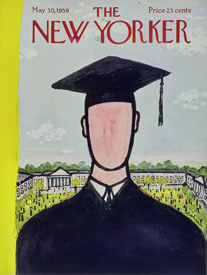 New Yorker May 30 1959 Painting by Abe Birnbaum