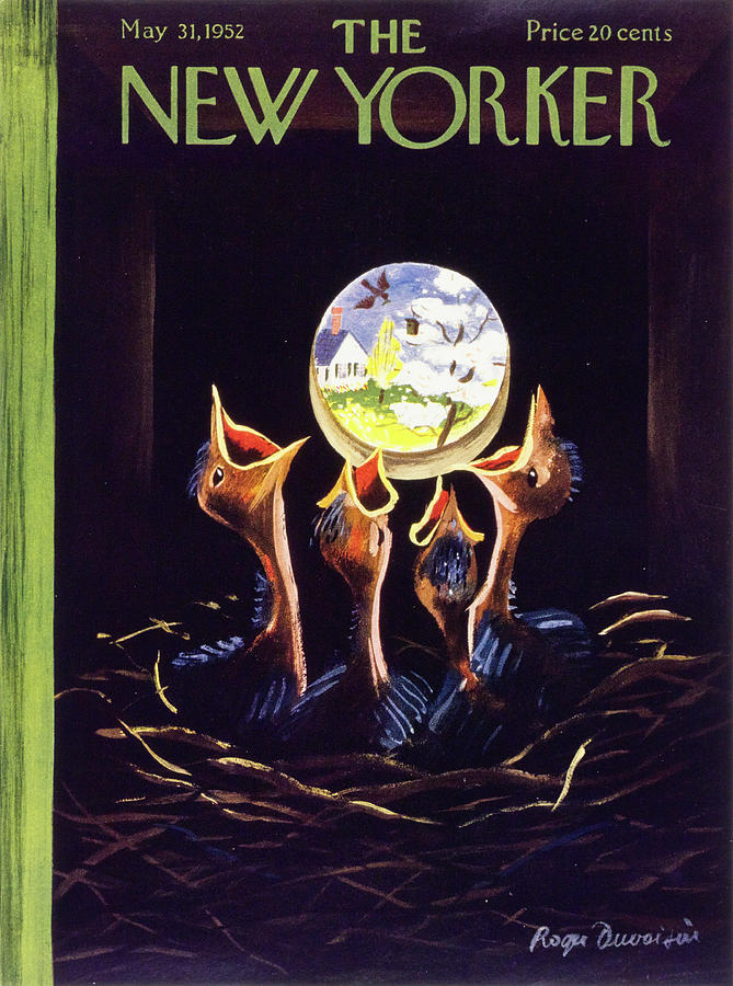 New Yorker May 31 1952 Painting by Roger Duvoisin