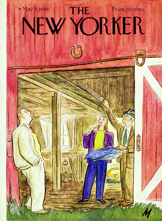 New Yorker May 7 1949 Painting by Julian De Miskey