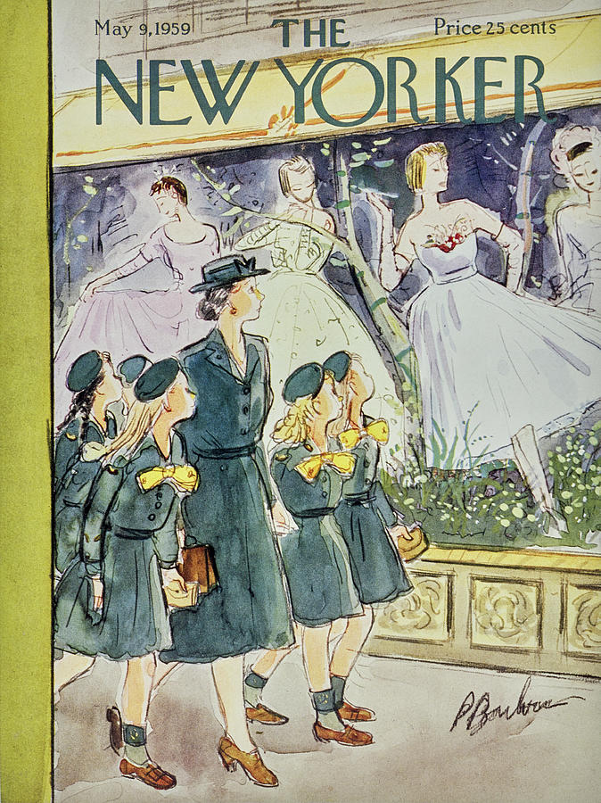 New Yorker May 9 1959 Painting by Perry Barlow