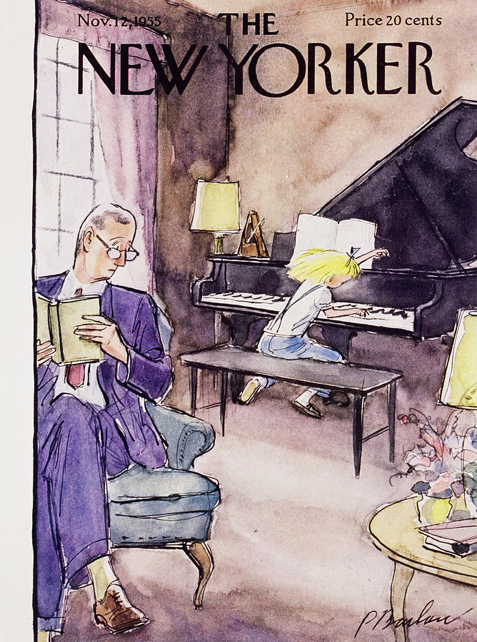 New Yorker November 12 1955 Painting by Perry Barlow