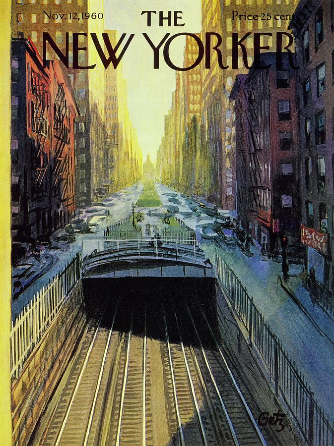 New Yorker November 12 1960 Painting by Arthur Getz