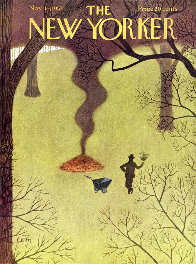 New Yorker November 14 1953 Painting by Charles Martin