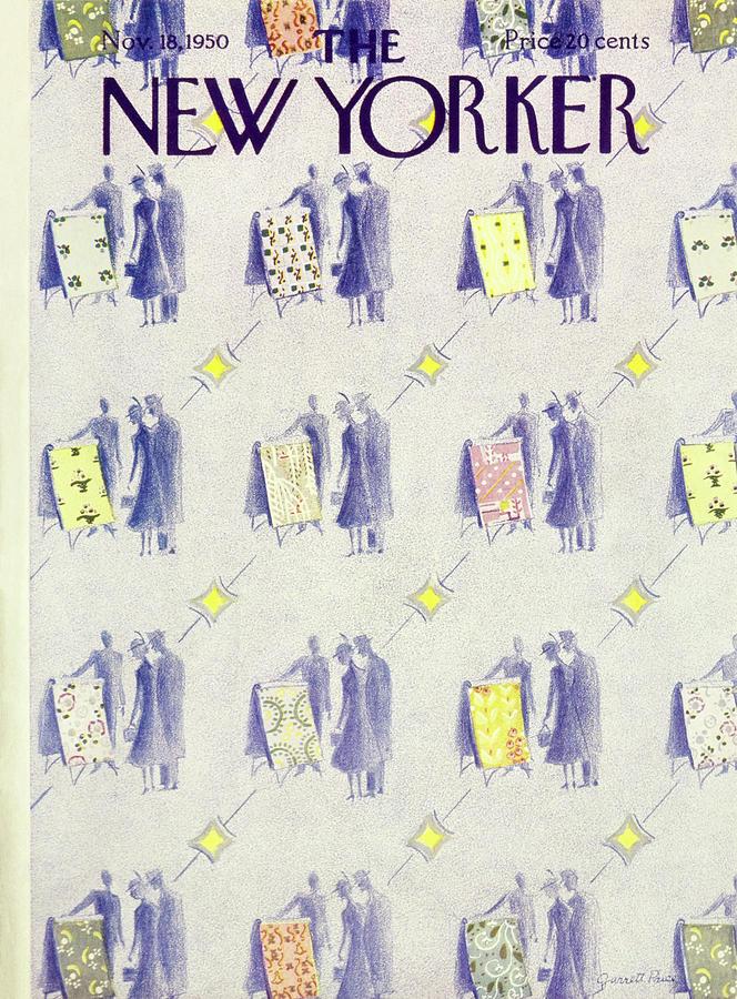 New Yorker November 18 1950 Painting by Garrett Price