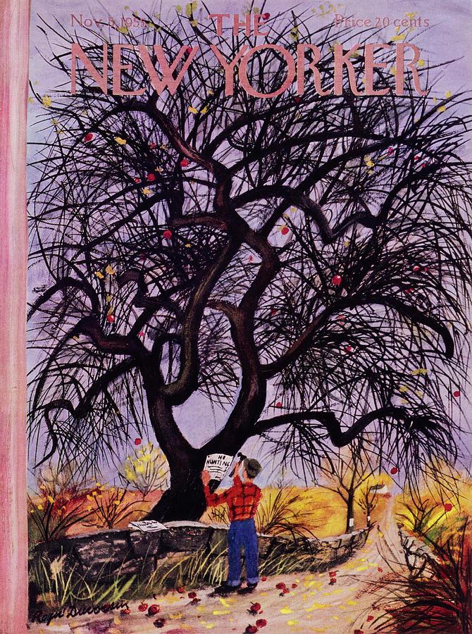 New Yorker November 5 1955 Painting by Roger Duvoisin