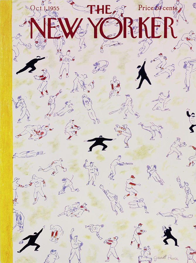 New Yorker October 1 1955 Painting by Garrett Price