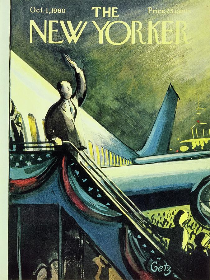 New Yorker October 1 1960 Painting by Arthur Getz