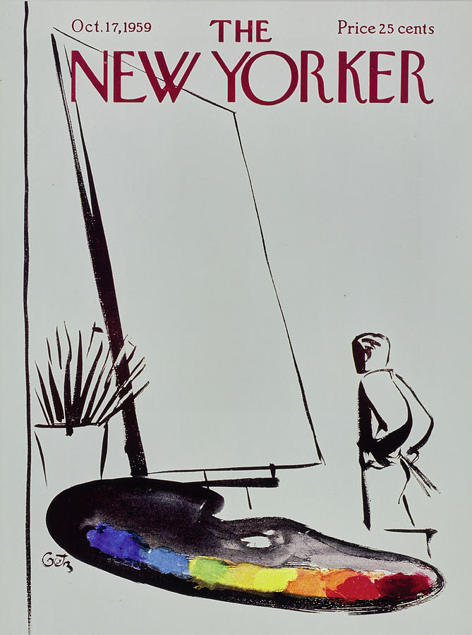 New Yorker October 17 1959 Painting by Arthur Getz