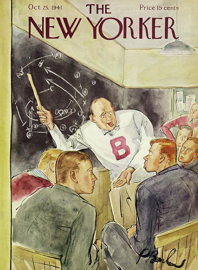 New Yorker October 25 1941 Painting by Perry Barlow
