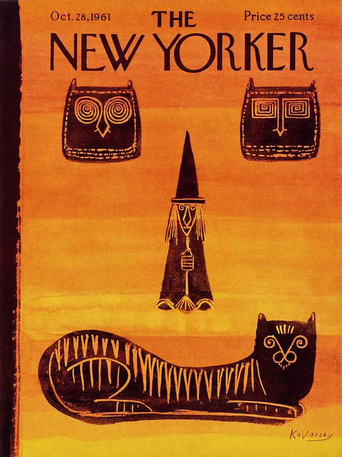 New Yorker October 28 1961 Drawing by Anatole Kovarsky