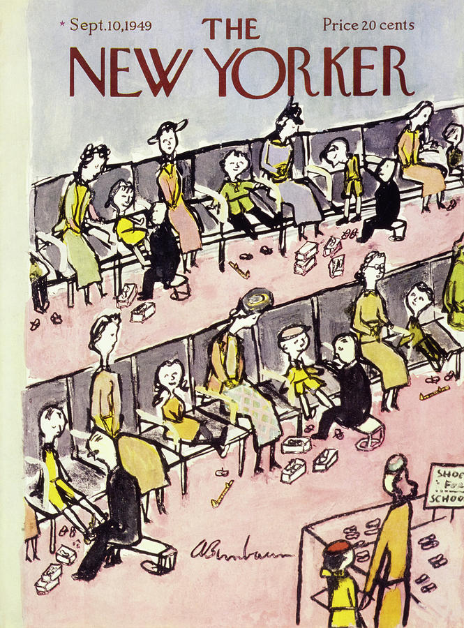 New Yorker September 10 1949 Painting by Abe Birnbaum