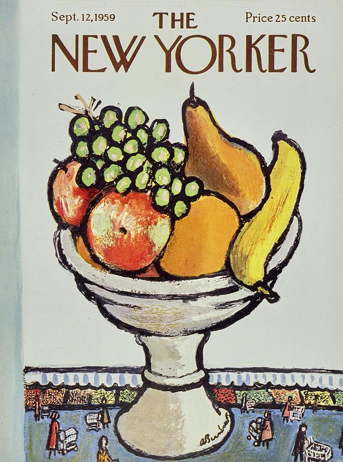 New Yorker September 12 1959 Painting by Abe Birnbaum