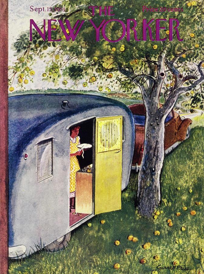 New Yorker September 15 1951 Painting by Garrett Price