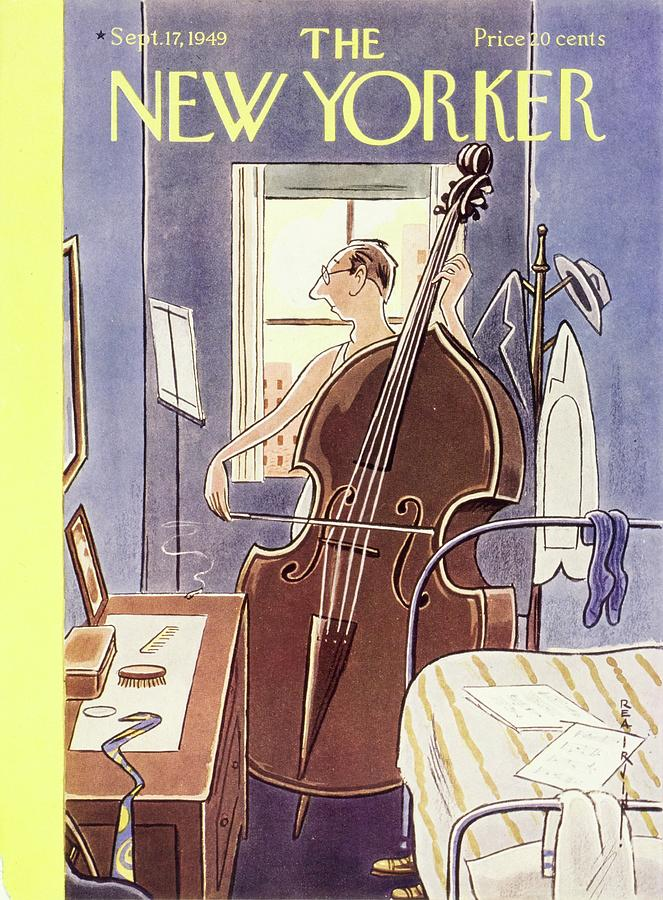 New Yorker September 17th, 1949 Painting by Rea Irvin